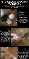 Plushie 5 o'clock shadow tutorial by eitanya