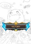Sketch Fan art Poro [game lol] by ciaonaidin