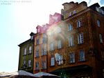 Warsaw Old Town by wroob