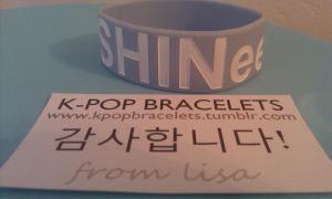 My SHINee Bracelet by MysteriousAmulet