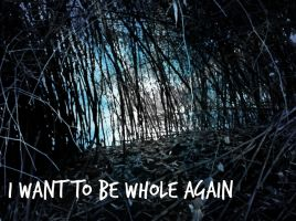 I Want to be Whole Again by AnotherDarkNerd