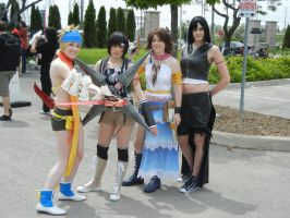 Anime North 2012 - Final Fantasy Cosplay by jmcclare