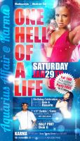 One Hell Of A Life Flyer by AnotherBcreation