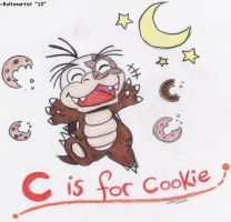 C is for cookie by Boltonartist