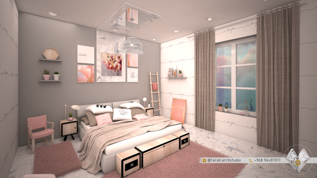 Modern Bedroom by Fro7a