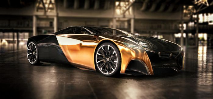 Peugeot Onyx Concept by TheImNobody