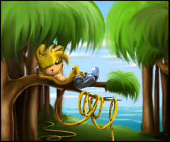 Under the Trees by wisp2007