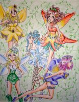 Flower Fairies by Tamao