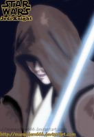 Jedi Knight vector by marauderx666