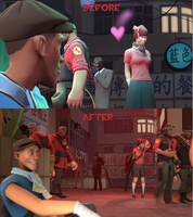 [SFM] First Sight [Before and After] by SovietDenmark