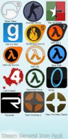 Steam Icon Pack by xilefian