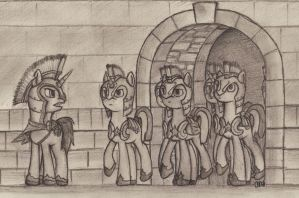 Detail, Forward March! by ArtOfCanterlot
