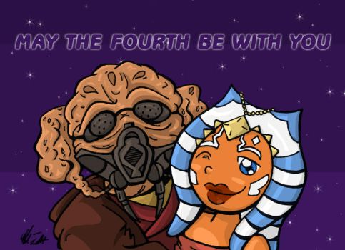 MAY THE FOURTH BE WITH YOU by TerribleToadQueen
