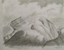 mountains by LOZ-Elisrilianfan
