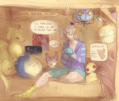Camy's cave by D-Kitsune