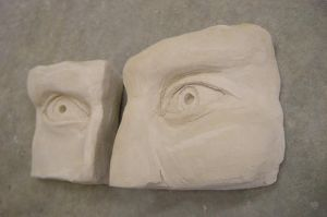 Clay Eyes Left by IgenSTilch