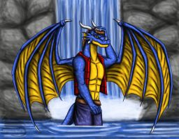 Commission from Ravenfire5 by DragonMaster616