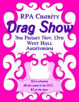 Drag Show Poster by Patches614