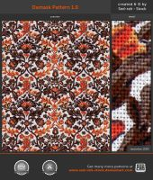 Damask Pattern 1.0 by Sed-rah-Stock