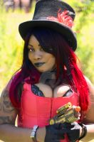 Steam Punk Steampunk thick busty cleavage and sexy by softandthickmagazine