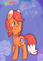 Freckle Fire by colgatetail