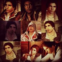Ezio Auditore Collage by missxmello
