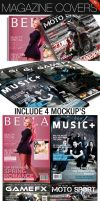 Magazine Covers No. 1 by CarlosViloria