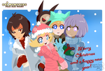 Merry Christmas 2016 -OriMonsters- by Kell0x