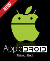 AppleDroid Logo - Think Both by sivad-design