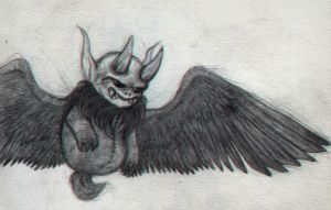 Krampus ( The Binding Of Isaac : Rebirth ) by Traicere
