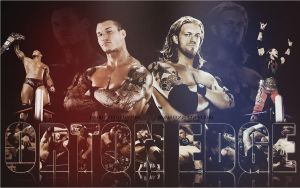 Randy Orton and Edge by dim861