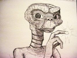 E.T. the Extra Terrestrial by JessKristen