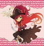 Adoptables AUCTION 01: Pirate Queen [CLOSED] by Rinslettuce