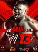 WWE'13 - The Pain Edition Brock Lesnar by MarcusMarcel