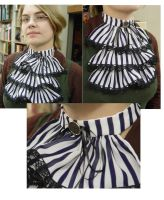 Black and white Jabot by FrockTarts