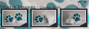 Plushie pawsies - Cosmic wuffy by FurryFursuitMaker
