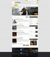 web design - Ola Gaming by Shizoy