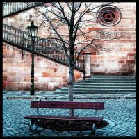 Benches in Praha 01 by nicolaperasso