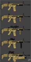 FN SCAR L Variants by ChineseWarri0r