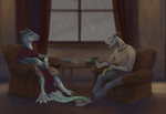 Rain and Books by bolthound