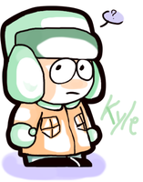 Kyle doodle. by DaRainbowGurl
