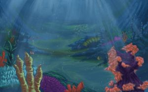 Deep Sea Concept Wallpaper by lizannlong