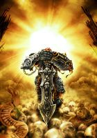 Sun Rise of Apocalypse (recolored) by GucalovPavel