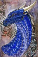Face Alagaesia: Saphira by Deygira-Blood