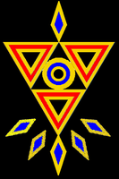 Triforce Design 5 - Colored by Zeldaboyz