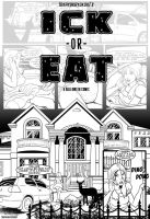Ick or Eat PART 1 comic page cover by okayokayokok