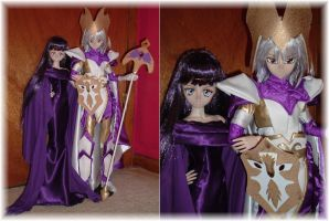 Aryballos x Bactria Dollfie by SetsunaKou