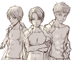Attack on Titan: Triple Perfection by TruPink