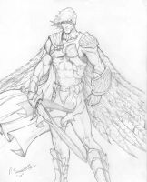 Guardian Angel Concept 02 by Pigbert