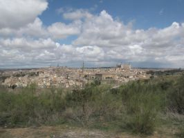 Toledo in the Distance by eillahwolf